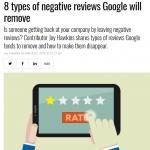 【SEO】Googleレビューで削除する可能性の高い否定的レビューのパターン