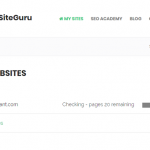 【SEO】無料のSEOツール「SiteGuru」を紹介