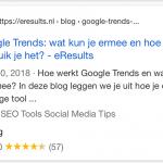 タグセクションを表示しているGoogle検索スニペット2