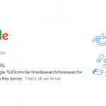Googleの品質評価ガイドラインが「404」になる